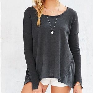 Urban Outfitters Oversized Gray Thermal